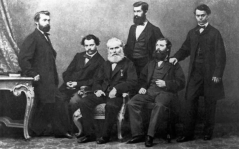 Michael Thonet and sons in 1857